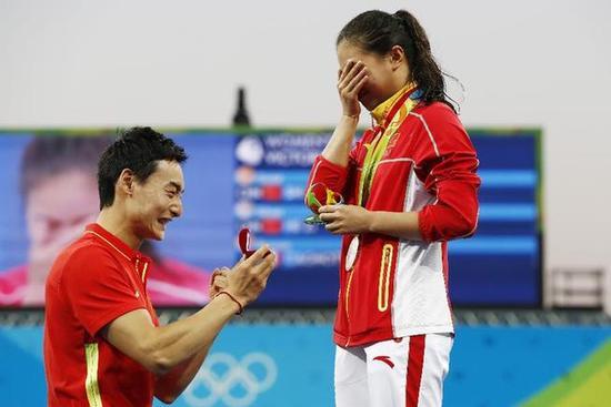 """里约奥运会的""""中国瞬间"""""""
