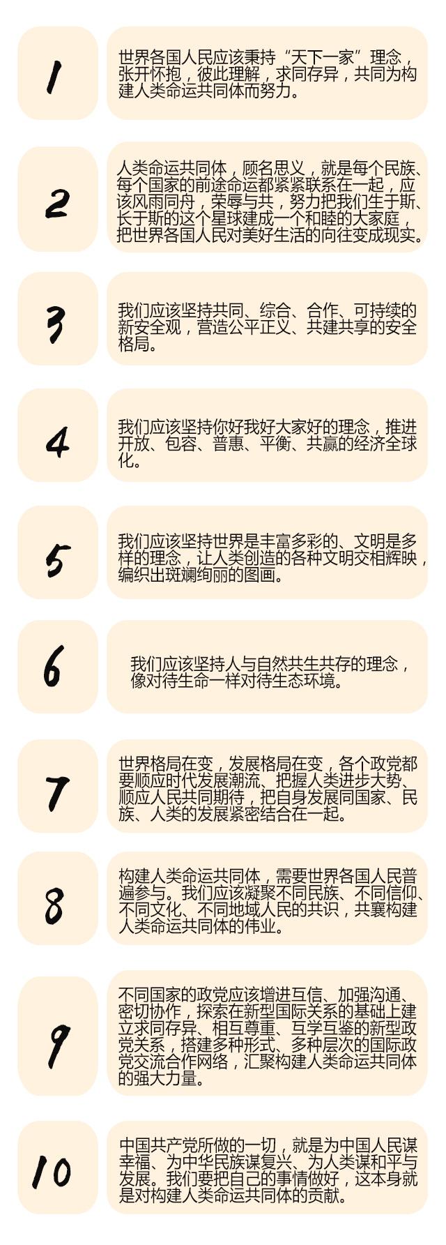 习近平10个金句描绘人类美好未来,国际政党代表高度评价