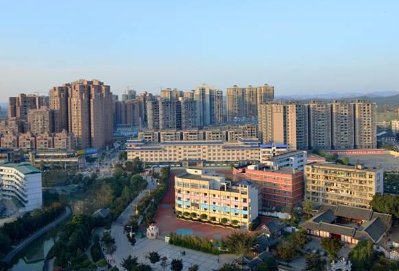营山县北部新城