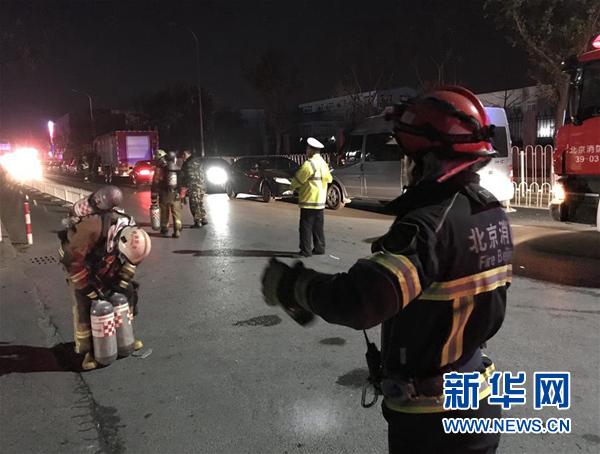 北京大兴西红门镇新建村发生火灾 19死8伤