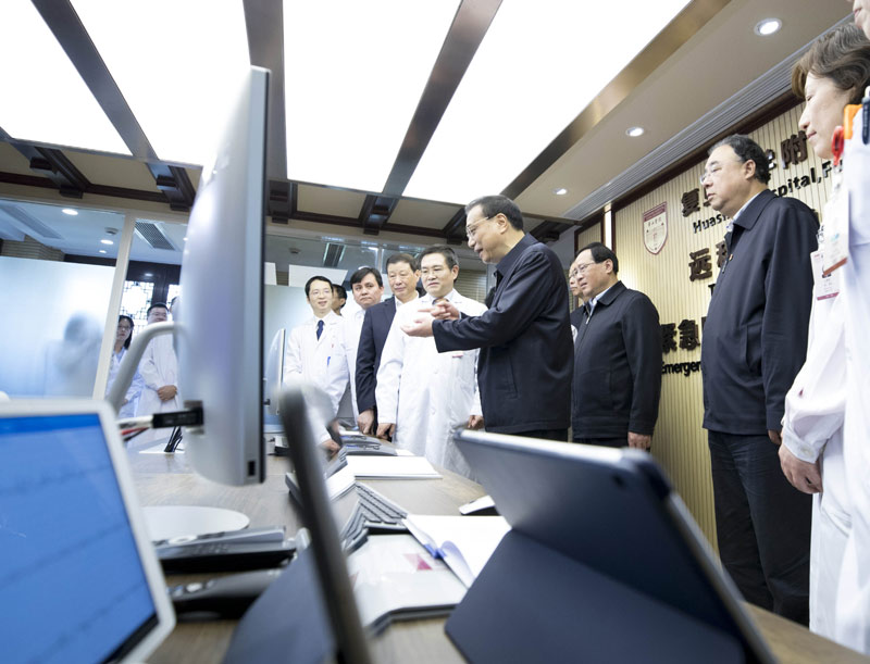 李克强:建立互联网专线保障远程医疗需要